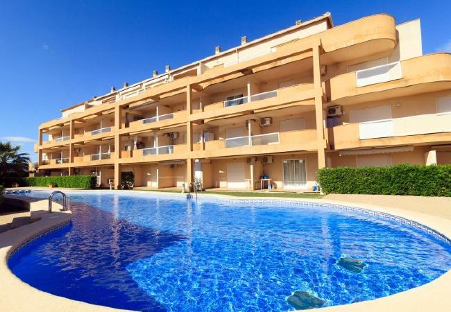 Apartamento en Denia - Playa Sur-1-d + wifi + PACK DE BIENESTAR (menus GOURMET, SPA, bicicletas, excursiones)