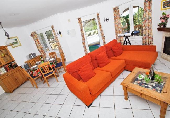 Villa en Denia - Villa Canoa-3-d+PACK DE BIENESTAR (menus GOURMET, SPA, bicicletas, excursiones)