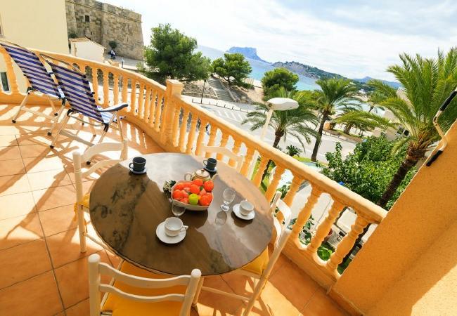 Apartamento en Moraira - Cap d'Or+1 día en Denia con PACK DE BIENESTAR (menus GOURMET, SPA, bicicletas, excursiones)