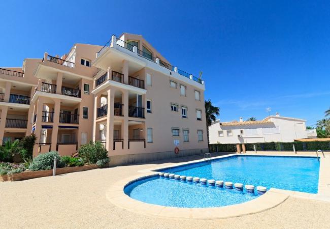 Apartamento en Denia - Carlton Playa-1-D + wifi + tv sat.+ PACK DE BIENESTAR (menus GOURMET, SPA, bicicletas, excursiones)