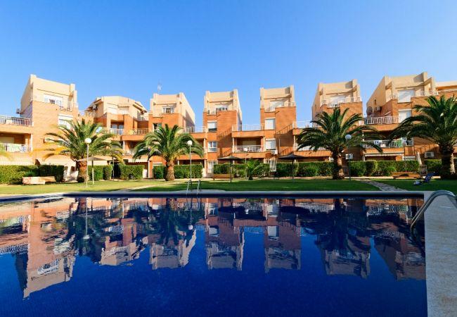 Apartamento en Denia - Mediterráneo Playa-2-d.+PACK DE BIENESTAR (menus GOURMET, SPA, bicicletas, excursiones)